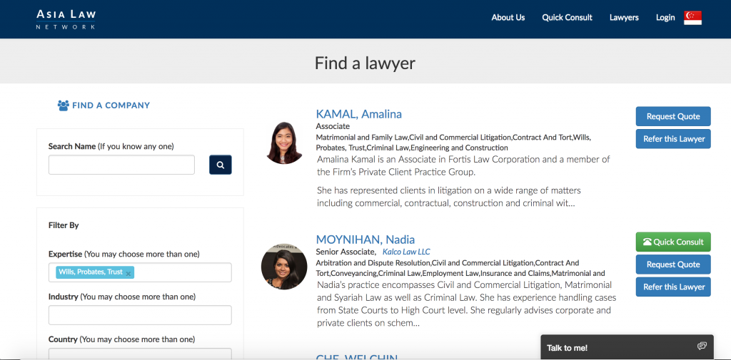 ALN_AsiaLawNetwork_Lawyer_Directory