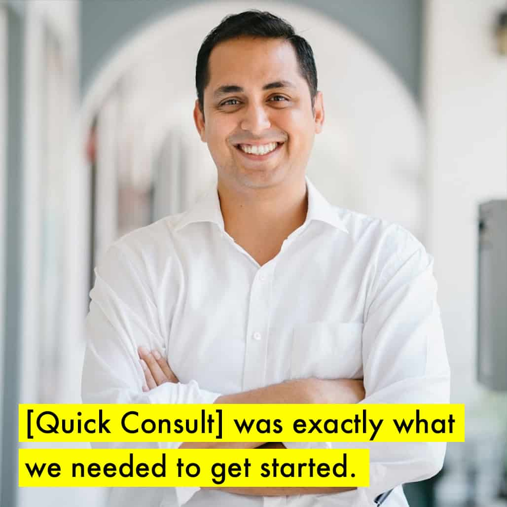 Photograph of Kshitij, founder of Sluggr.club and client of Asia Law Network with a Quick Consult